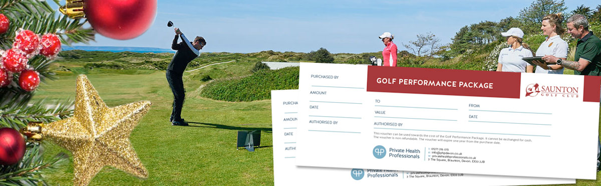 Golf performance vouchers